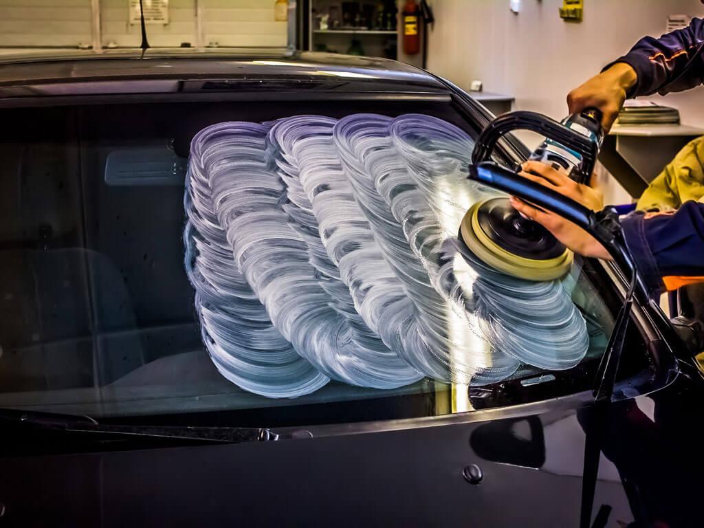 Как отполировать лобовое стекло своими руками без машинки фото 717
